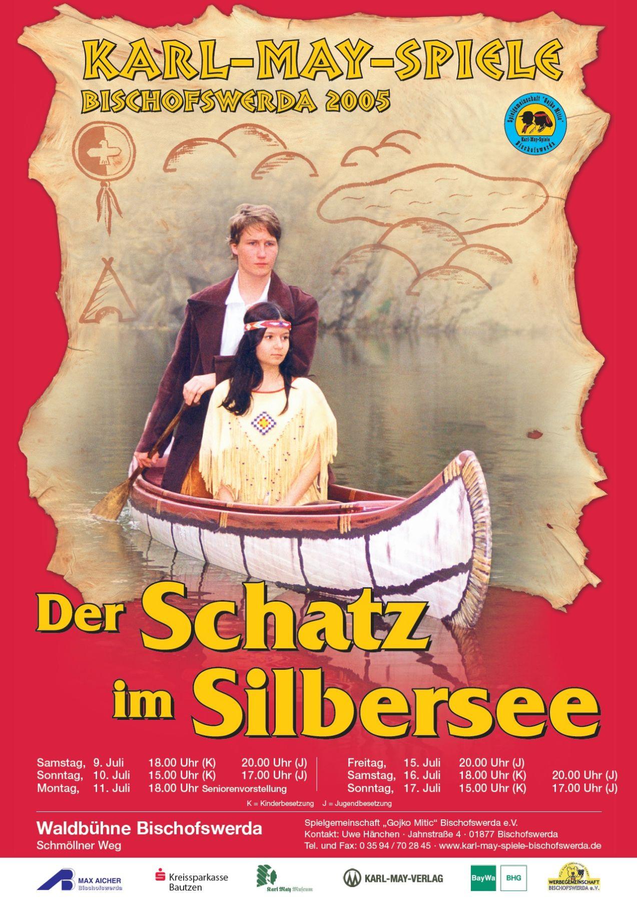 Saison 2005 karl may spiele bischofswerda for Der schatz im silbersee